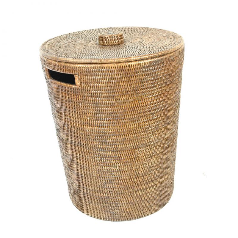 w schekorb rattan laundry basket cottagepark wohnen tisch tafel silber geschenke. Black Bedroom Furniture Sets. Home Design Ideas